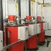 Montagem de isolamento térmico em equipamentos